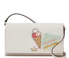 KATE SPADE Cameron st stormie ice cream Gelateria crossbody clutch purse wallet