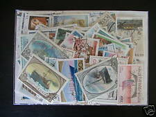 TIMBRES TRANSPORTS/BATEAUX : 100 TIMBRES TOUS DIFFÉRENTS / BOAT STAMPS