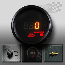 LED Digital Indicador De Temperatura De Aceite 52 mm Dash Kit Personalizado De Reloj Panel Interior