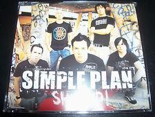 Simple Plan Shut Up Australian 3 Track CD Single