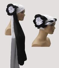 Fancy Lycra Head cover hat scarf, 1 piece  chemo turban head wrap High Quality