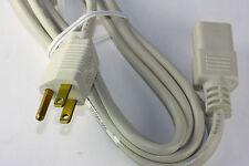 Electri-Cord 3-Prong Copper Conductor AC Power Cord Cable Server Desktop PC Mac