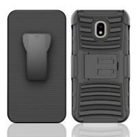 Samsung Galaxy J3(2018)Achieve/Express Prime 3 Holster Belt Clip Kickstand Case