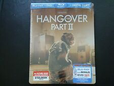 THE HANGOVER PART II 2 Brand New Sealed Blu-ray Steelbook Future Shop Exclusive