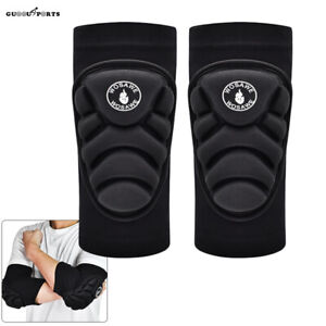 Elbow Pads Support Brace Guards MTB Bike BMX Pad Volleyball  Arm Protector Pair