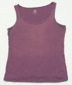 Faded Glory Red Tank Top T-Shirt Size XL 16/18 Woman's Tee Cotton Women's Ribbed