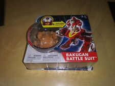 New Bakugan Mechtanium Surge Tan Subterra Combustoid Battle Suit W/ Ability Card
