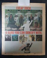 Cheap Trick Original Print Ad Vintage 1979 Dream Police