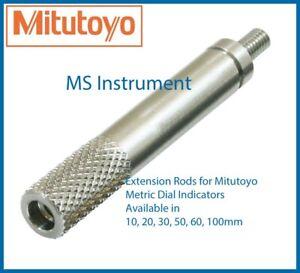 Extension Rods for Mitutoyo Metric Dial Indicators | Australia Stock