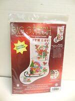 Janlynn Big Stitch Counted Cross Stitch Kit Stocking Snow Much Fun Christmas
