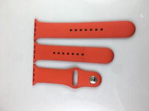 Original genuine Apple watch Series 5 4 3 2 1 Sport Band 38mm 40mm strap Orange