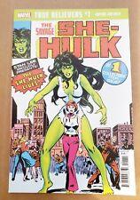 Savage She Hulk #1 True Believers reprint Free Boxed Shipping
