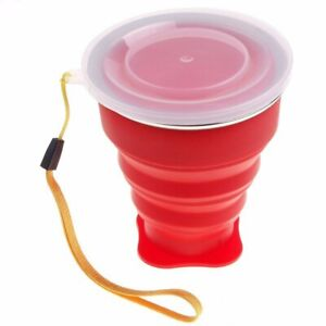 WaterCup Retractable Travel Silicone Retractable Folding Cup Outdoor Collapsible