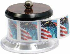 Postage Stamp Keeper Holder Desktop Dispenser Roll Storage Display Collector.