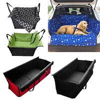 Pet Dog Seat Hammock Cover Car Suv Back Rear Protector Mat Cushion Waterproof