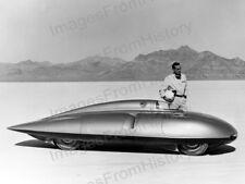 8x10 Print Historic MG Speed Trials Bonneville Salt Flats 1956 #MGST