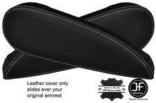 Stitch 2x grigio in pelle bracciolo sedile copre si adatta a CITROEN c4 PICASSO VTR + 06-13
