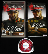 50 CENT BULLETPROOF G UNIT EDITION Psp Versione Italiana •••• COMPLETO
