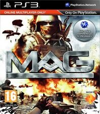 MAG: Online Multiplayer ONLY Shooter PS3 Video Game (Sony PlayStation 3, 2010)