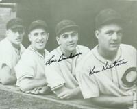 Original Autographs JSA, Lou Boudreau HOF & Ken Keltner of the Cleveland Indians