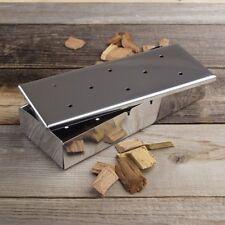 Barbecue Wood Chip BBQ Smoker Box New