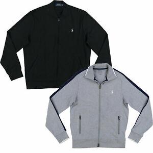 Polo Ralph Lauren Mens Track Jacket Full Zip Pony Logo Pockets Nwt New Prl M L