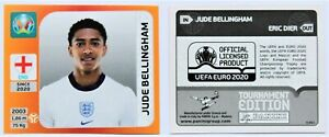 Panini EURO 2020 Tournament Edition - Update Sticker Bellingham Rookie England