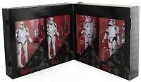 "Star Wars Hasbro Black Series 6"" Stormtrooper Clone 4-Pack Amazon Exclusive"