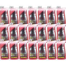 21x1 Liter MANNOL Kühlerfrostschutz Antifreeze AF 12+ Frostschutz -40°C rot rosa