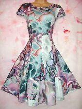 BNWOT TED BAKER 'Mah' Illuminated Bloom Evening Dress 10 (Ted Sz 2) - Gorgeous!