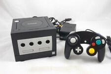 Nintendo GameCube Konsole Schwarz + Controller - GEBRAUCHT