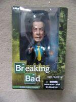 "Mezco SAUL GOODMAN from Breaking Bad Bobblehead 6"" Figure"