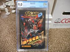 Spawn 3-D 1 cgc 9.0 Image 2006 Mocca Exclusive Todd McFarlane cover WHITE pgs