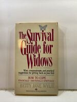 The Survival Guide For Widows - Betty Jane Wylie (1986, Paperback)