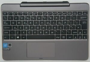 ASUS UK Keyboard Dock for Transformer Book T100H T100HA - Grey