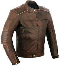 Vagos Motorbike Leather Jacket Motorcycle Protection Jacket