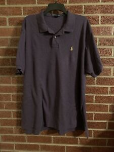 Polo Ralph Lauren Men's Polo Shirt Purple XXL