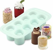 Candy Making Molds Wilton 8 Cavity Round Silicone Shot Bakeware Cooking Tool NEW