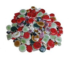 Ultra-thin Ceramic Mosaic Tiles For Crafts Wall Arts Diy Hand Crafting Mix 50pc
