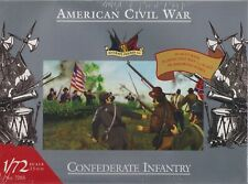 ACCURATE FIGURES 1/72 Scale Model Kit #7203 ACW CONFEDERATE INFANTRY