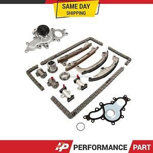 Timing Chain Kit Water Pump Fit 08-14 Lexus LS600H LS460 GS460 2URGSE 1URFSE