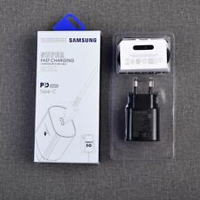 Original Samsung Galaxy Note10+ 5G 25W Charger Adapter Dual USB-C PD Cable TA800