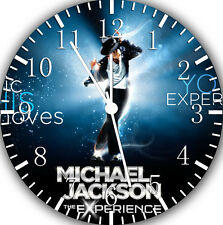 """Michael Jackson wall Clock 10"""" will be nice Gift and Room wall Decor Z09"""