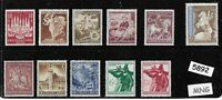 #5892    MNG stamp set / Adolph Hitler / WWII Germany / Third Reich mint stamps