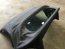 Porsche Boxster 987 BLACK CONVERTIBLE CABRIOLET FABRIC ROOF  GREY