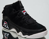 Fila 95 Men's New Lifestyle Shoes Mid Top Black Red 2018 Sneakers 1010491-25Y