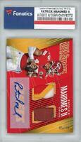 Autographed Patrick Mahomes Chiefs Football Card Item#10675810