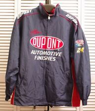 JEFF GORDON NASCAR DUPONT JACKET COAT 2XL 2 EXTRA LARGE 24 LIGHTWEIGHT