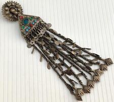Vintage Afghan Banjara Kuchi Tribal Ethnic Craft Metal Boho Gypsy Tassel