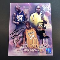 Shaquille O'Neal Signed Autographed 8x10 Photo Beckett BAS Lakers HOF 16 Shaq